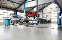Cars-Under-Maintenance-at-Garage
